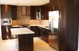 Chocolate Shaker Style Kitchen Cabinet
