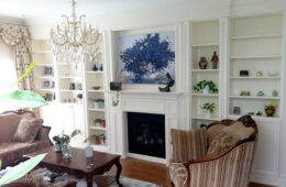 Painted White Wall Unit